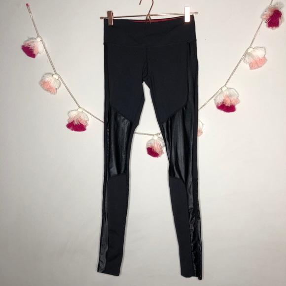 2b6391607ce5f2 Pure Barre Pants | Black Moto Style Leggings S | Poshmark